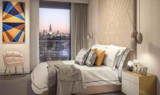 Flat for sale in Harbour Central, Lightermans Road, E14 9JE-View-1