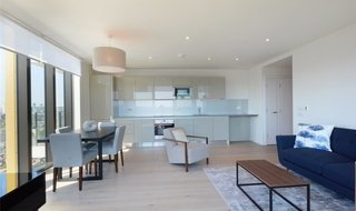 Flat for sale in St. Gabriel Walk, London, SE1 6FA-View-1